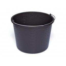 SOLID Construction bucket - PE 20 L - black Home