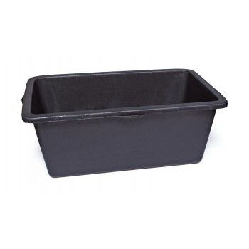 SOLID Mortar container rectangular - PE 90 L - black Home