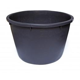 SOLID Mortar tank round - PE 230 L - black Home