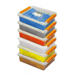 KNUDSEN Filling plates 54 x 46 x 1 mm - per 800 pcs - blue Home