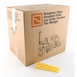 KNUDSEN Angled keys 25 x 45 x 150 mm - per 324 pcs - yellow Adjustment blocks