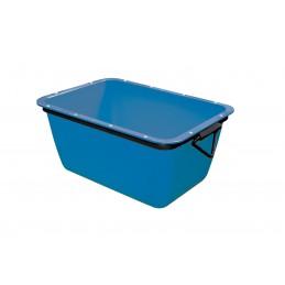 WEMAS Mortar container 200 L - blue - rectangular Home