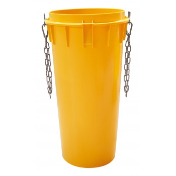 ICS Casing 1.1 m, yellow, elements in PE, telescopic, incl. chain Home