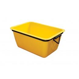 WEMAS Mortar container 200 L - yellow - rectangular Home