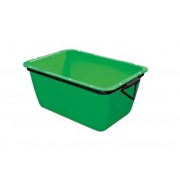 WEMAS Mortar container 200 L - green - rectangular Home