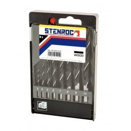 STENROC WOOD Wood drill set...