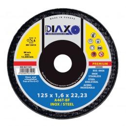 PRODIAXO Disque abrasif INOX Ø 125 x 1,6 mm A46T-BF - Premium ConstructionAccueil