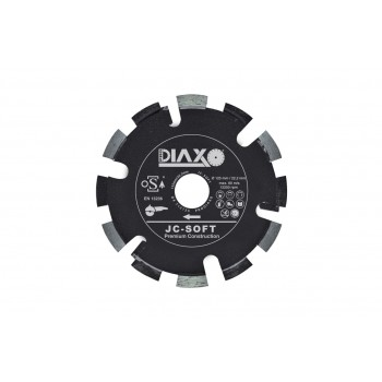 PRODIAXO JC-SOFT - 125 x 22.2 mm - Premium Construction Joint milling and grinding heads