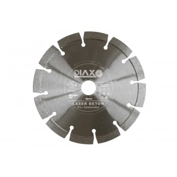 PRODIAXO LASER BETON Disk diamond 125 x 22,2 mm Diamond dry-cutting saws