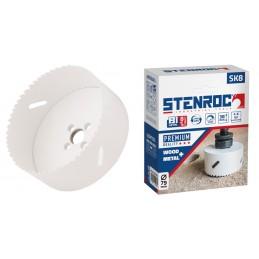 STENROC Bi-Metal hole saw SK8 - PREMIUM - 22 mm (EX LX 30014L-22) Home