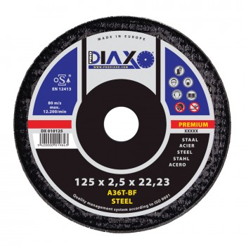 PRODIAXO Cutting disc STEEL Ø 125 x 2.5 mm A36T-BF - Premium Construction Home