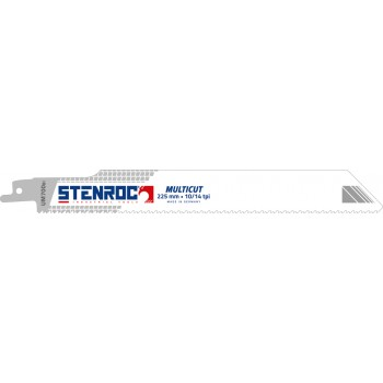 STENROC Reciprocating saw blade MULTICUT (5pcs) - UM700BI, 225x25x0.9mm x 10-14tpi Home