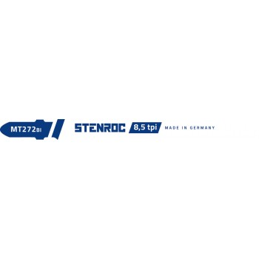 STENROC NF Metal-PVC jigsaw blade (5pcs) - MT272BI, 100 mm x 8.5tpi (EX LX20306-20813) Home