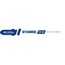 STENROC Jigsaw blade Metal-Inox (5pcs.) - MU205BI, 76.5 mm x 36tpi (EX IR 10504234) Jigsaw accessories