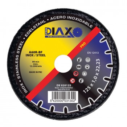 PRODIAXO INOX cutting disc Ø 125 x 1.0 mm A60R-BF - Pro Construction Home