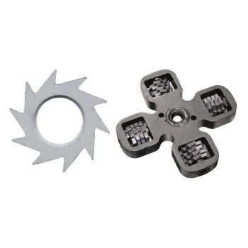 EIBENSTOCK Cross with 16 knurled milling wheels for EPF 1503 Home