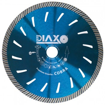 PRODIAXO Diamond wheel COBRA - 125 x 22.2 mm - Premium Granite Home
