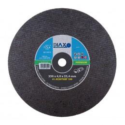 PRODIAXO Disque abrasif ACIER - 350 x 4,0 x 25,4 mm (scies moteurs) - PremiumAccueil