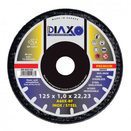 PRODIAXO INOX cutting disc Ø 125 x 1.0 mm A60X-BF - Premium Construction Cutting discs