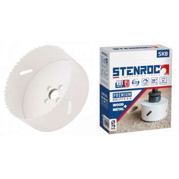 STENROC Bi-Metal hole saw SK8 - PREMIUM - 200 mm Home
