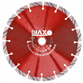 PRODIAXO EVOLUTION CUBIX diamond wheel - 230 x 22.2 mm - Top Construction Home