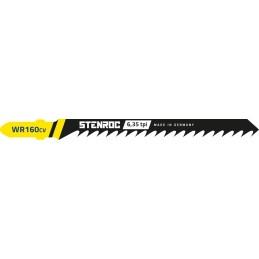 STENROC Jigsaw blade HOUT (5pcs) - WR160CV, 100 mm x 6.35tpi Home