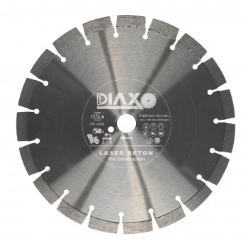 PRODIAXO Diamond disc LASER BETON - 400 x 25.4 mm - Pro Construction Home