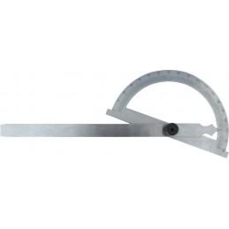 STENROC Rapporteur d'angle 0-180° - 200 x 300 mm   (Ex. PM 110131)Mesureurs d'angle