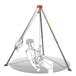 SECURX Tripod - aluminium 1.47 m - 2.29 m Tripod