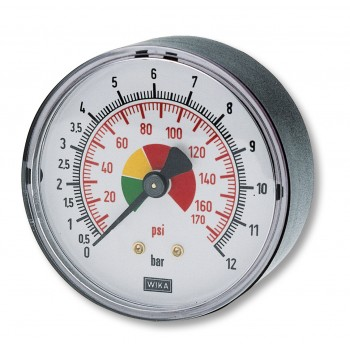 """Contimac pressure gauge 1-8"""""""" axial connection (max.12bar)"""" Compressed air accessories"""