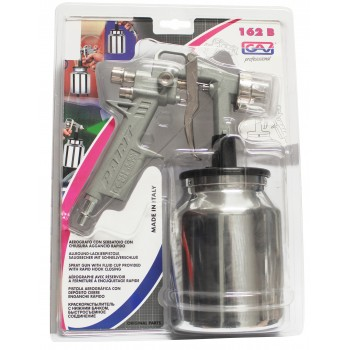 Contimac paint spray gun with bottom cup(blister) Paint spray guns