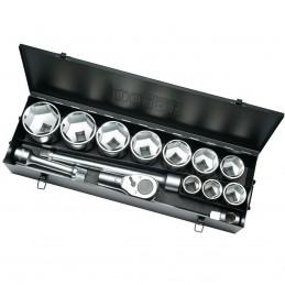 "Contimac socket set 1-2"""" and accessories - 23 dlg - polar"" Kits and set tools"