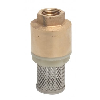 Contimac brass foot valve...