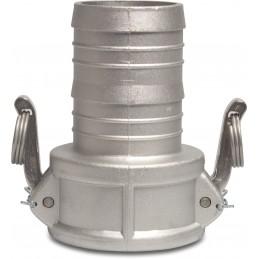 "Contimac camlock quick coupling with hose barb 2 1-2"""" + hose barrel 63 mm"" Accessories pumps"