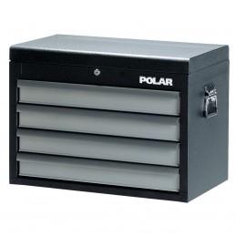 Contimac Coffre d'outils 4 tirroirs (VIDE) polar