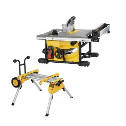 Dewalt DWE7485RS-QS - Scie à table DW745 + chariot à roues DE7400-XJ Table saws