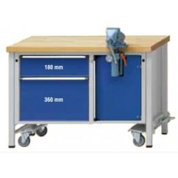 Contimac anke mounting workbench 1270 model 701 v, fahrbar 127 Workshop equipment