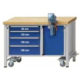 Contimac anke mounting workbench 1270 model 707 v, fahrbar 127 Workshop equipment