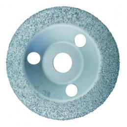EDMA Deburring disc (diam.) 125 mm, fine grain (spherical) Deburring discs