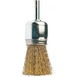 FECIN Brush BR (diam.) 26-0.30- 6 mm rod, brass, blister DIY Brushes