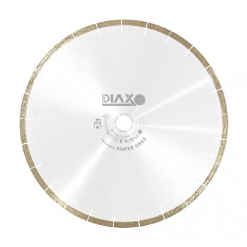 PRODIAXO Diamond Disk SUPER GRES - 200 x 25.4 mm - Top Ceramics Diamond saws for dry and wet use