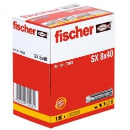 Fischer PLUG SX 8X40 (100 pcs) Plugs