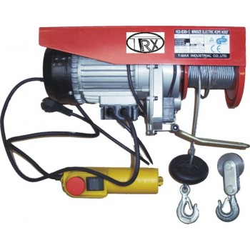 TRX Palan 230V-300-600 kg,1150W 12m cable Winches