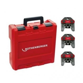 Rothenberger 1000002065 - Press Jaw Set Standard, BE16-20-26mm\n Crimping machine accessories