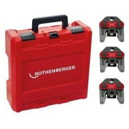 Rothenberger 1000002068 - Press Jaw Set Standard, SV15-22-28mm\n Crimping machine accessories