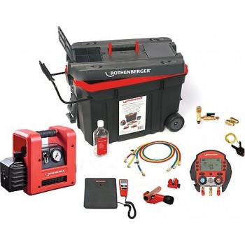 Rothenberger 1000002561 - ROCADDY 120 R32 Digital\n Cleaning, heating, air treatment