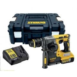 Dewalt DCH273P2T-QW - Hammer drill 18V-2X5.0Ah + radio DCR019 Cordless
