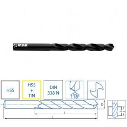 Izar 1010 - 10,70mm DRILL BIT HSS DIN338N CLASSIQUE HSS